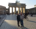 Rayls and Gaz at the Brandenburg Gate