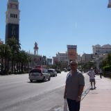 Gary on the strip in Las Vegas