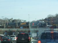 Toll booth before the Lincoln Tunnel - traffic terror