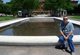Me at the Law Enforcement Memorial