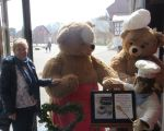 Rayls at the Steiff Bear Museum