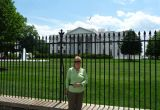 Rayls outside the White House