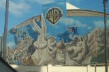 Outside Warner Brothers Studio - That's all Folks!